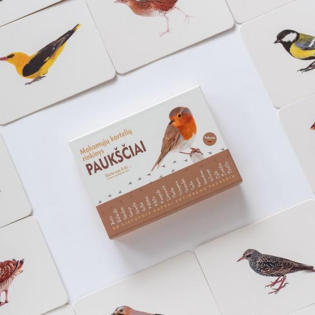 Rinkinys - Lietuvos paukščiai, miško gyvūnai ir vabzdžiai