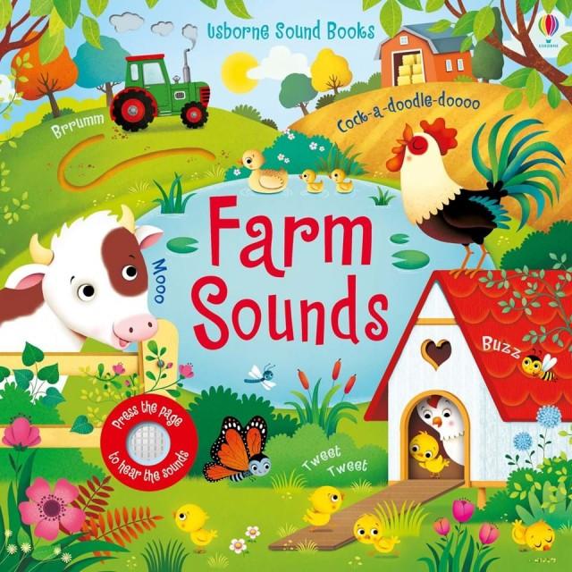 FARM SOUNDS (Garsų knygelė)