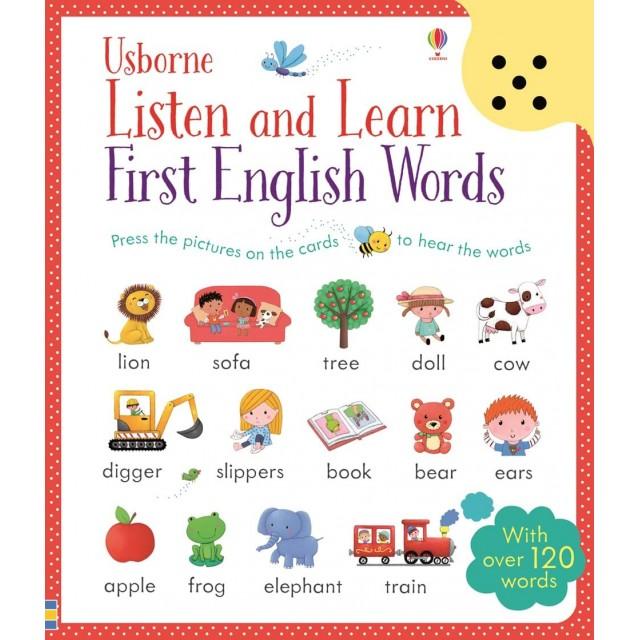 FIRST ENGLISH WORDS (Klausyk ir išmok)