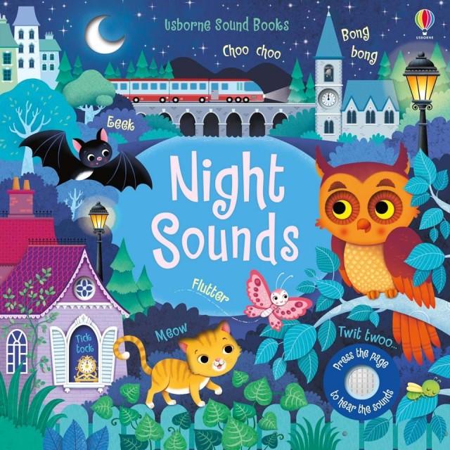 NIGHT SOUNDS (Garsų knygelė)