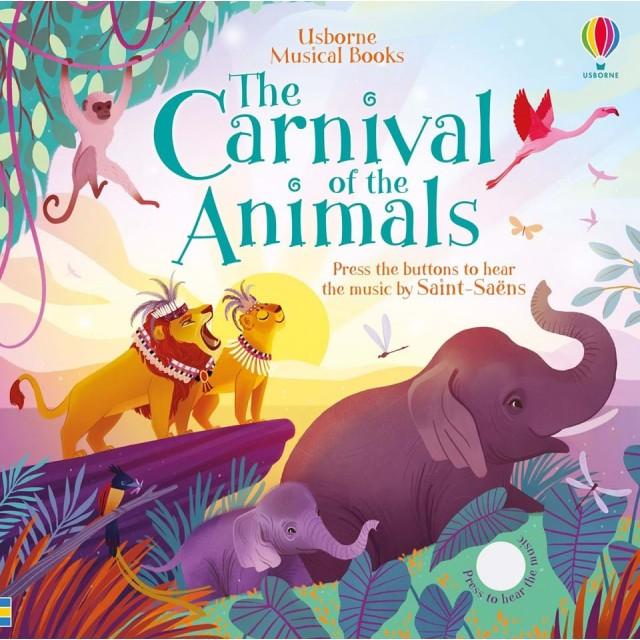 THE CARNIVAL OF THE ANIMALS (Muzikinė knygelė)
