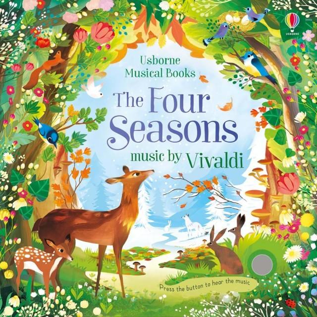 THE FOUR SEASONS BY VIVALDI (Muzikinė knygelė)