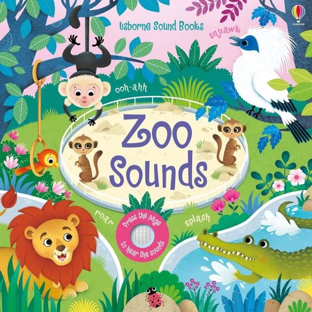 ZOO SOUNDS (Garsų knygelė)